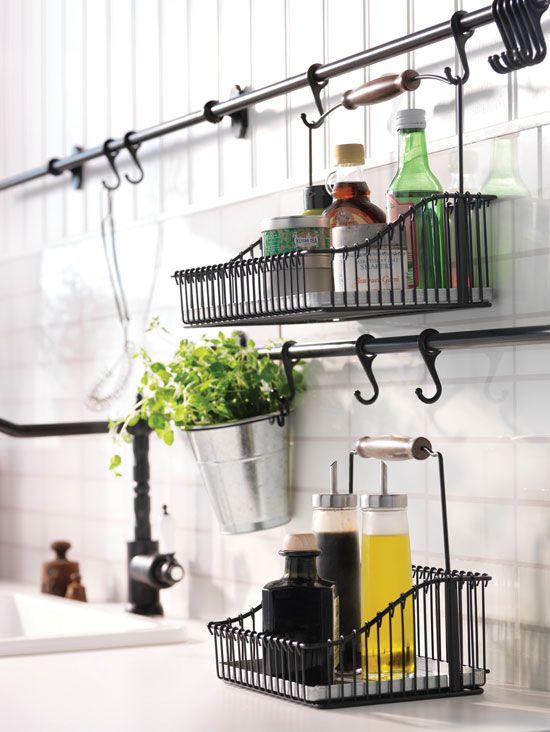 Ikea Kitchen Hanging Storage Fresh 31 Home Storage solutions Healthy Home