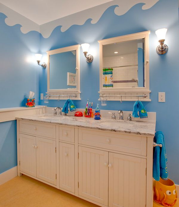 Kids Bathroom Sets  23 Kids Bathroom Design Ideas to Brighten Up Your Home