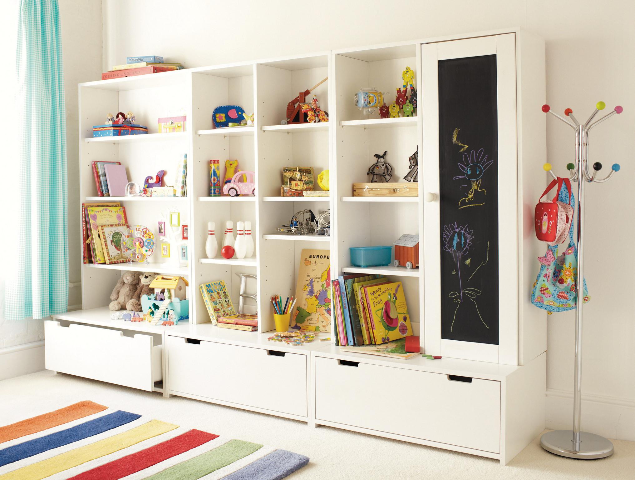Kids Bedroom Storage  Most Precise Children's Playroom Storage Ideas 42 Room