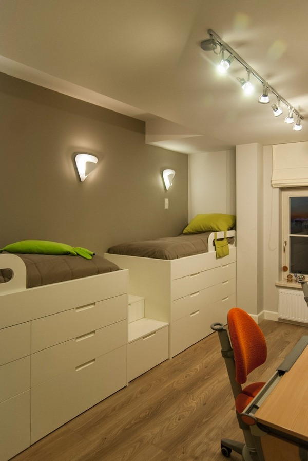 Kids Bedroom Storage  Storage ideas for small bedrooms to maximize the space