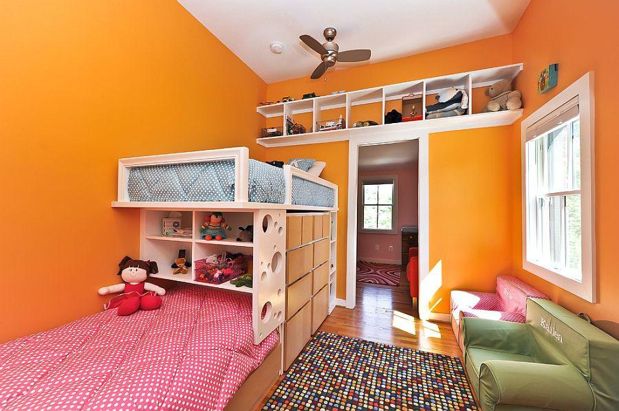 Kids Bedroom Storage  Inspired Displays 20 Unique Shelves for a Creative Kids' Room