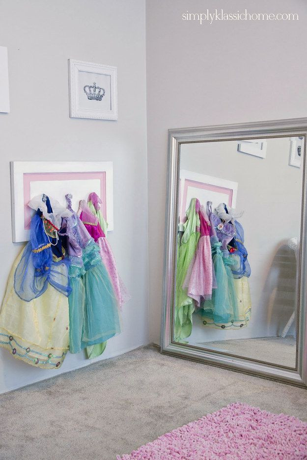 Kids Dressing Room  Six Ways to Display Your Child s Special Occasion Dress