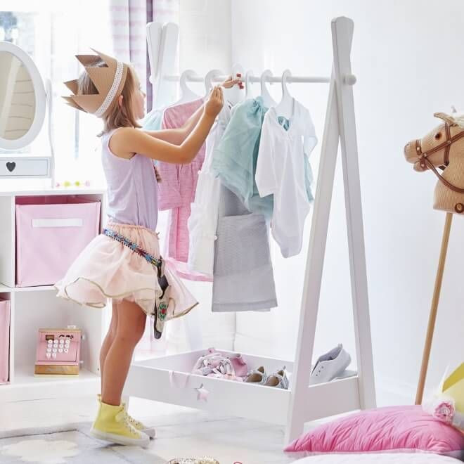Kids Dressing Room  Kid's Dress Up Centres & Clothes Rails