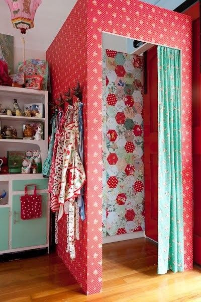 Kids Dressing Room  Gorgeous change room in a children s boutique little