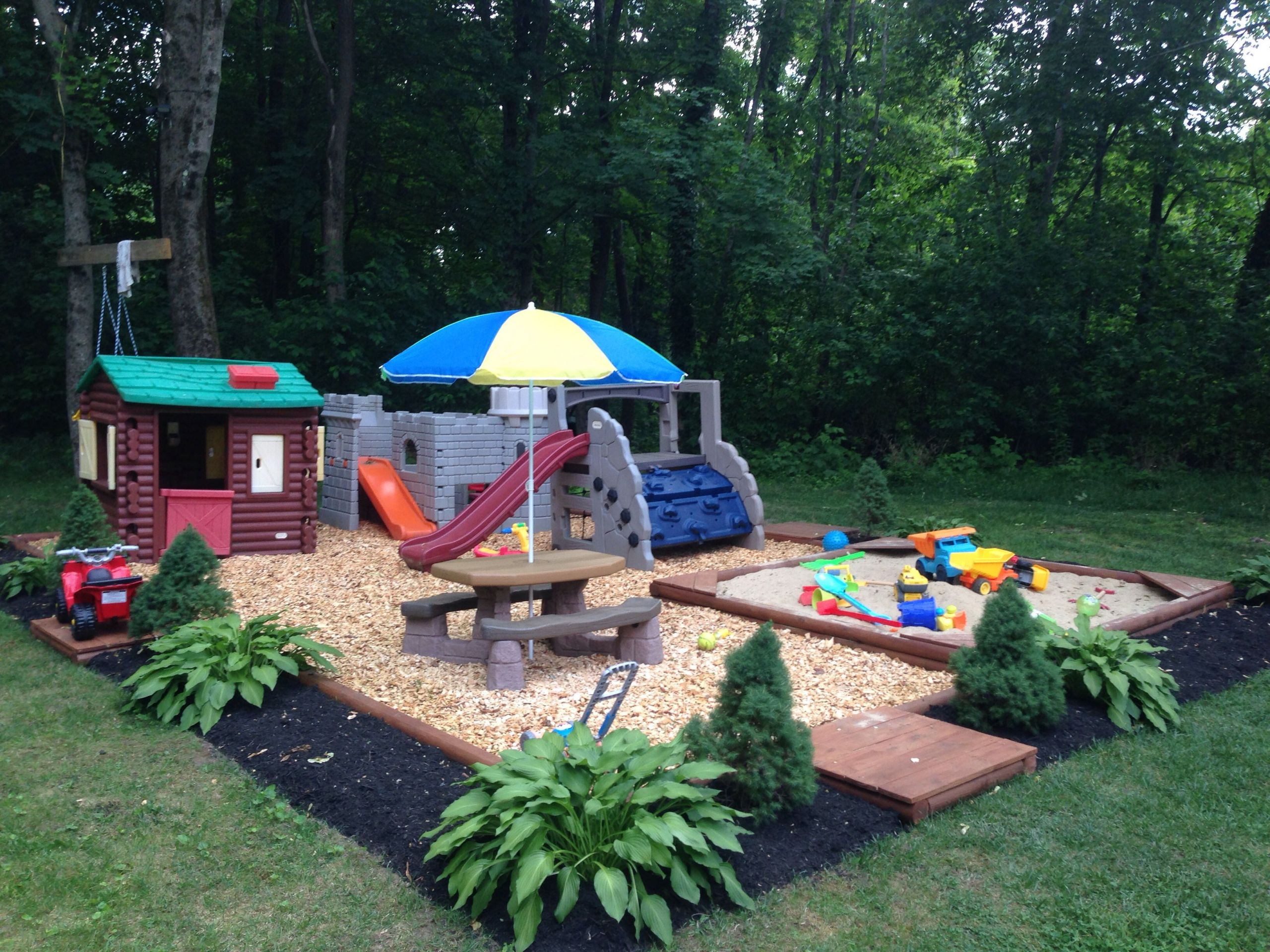 Kids Outdoor Play area Awesome Backyard Play area