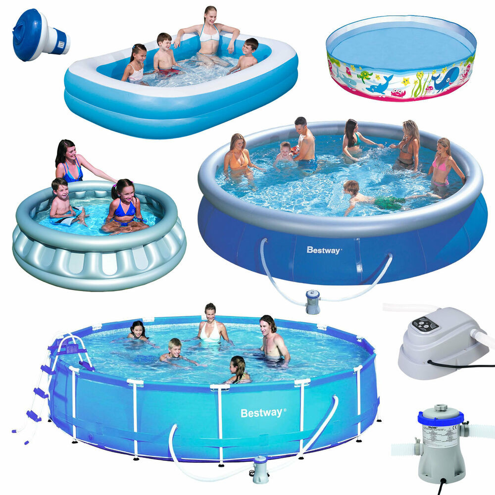 Kids Outdoor Swimming Pool  Outdoor Inflatable Swimming Paddling Pool Garden Family