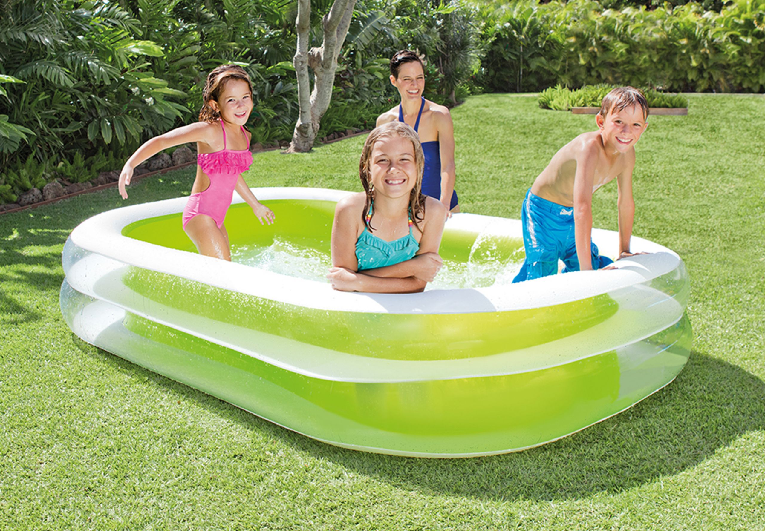 Kids Outdoor Swimming Pool  Swimming Pool Inflatable Center Family Water Kids Play