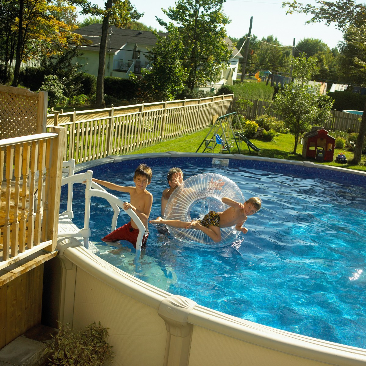 Kids Outdoor Swimming Pool  Swimming Pool Safety for Small Children – Supervise