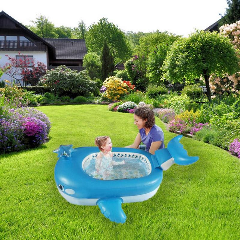 Kids Outdoor Swimming Pool  Inflatable Baby Swimming Pool Play Pool Outdoors Float
