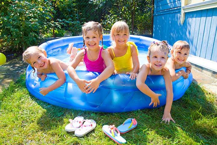 Kids Outdoor Swimming Pool  20 Best Inflatable Kid Pools & Hard Plastic Kid
