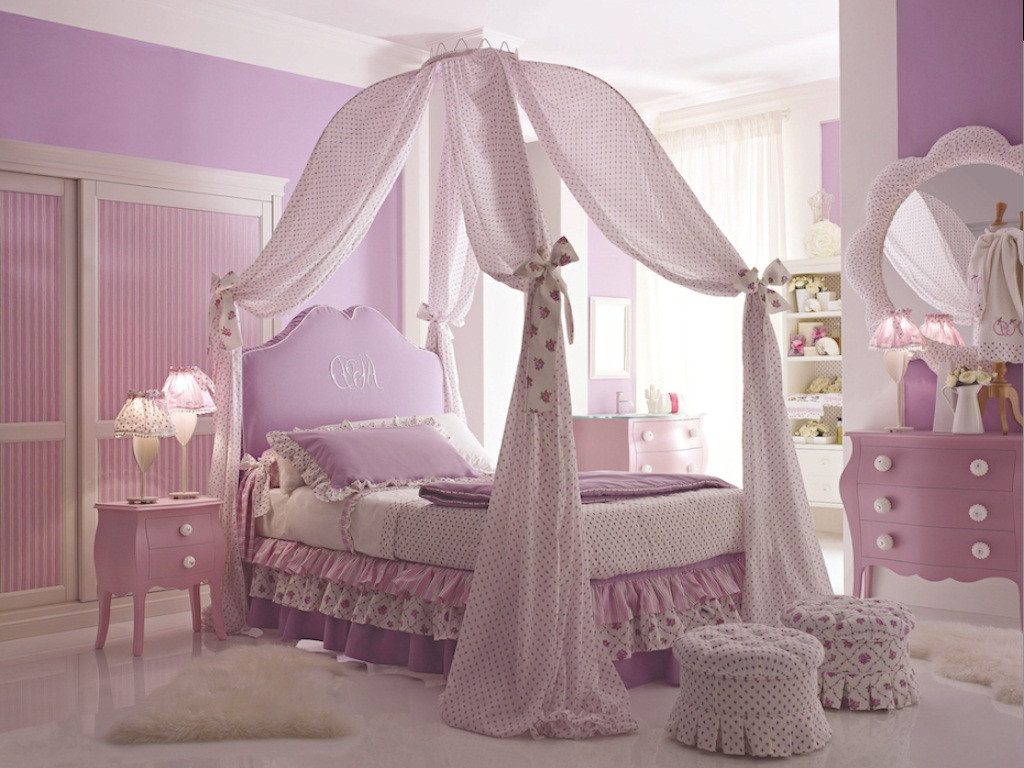 Kids Princess Room  DIY Princess Bed Canopy for Kids Bedroom MidCityEast