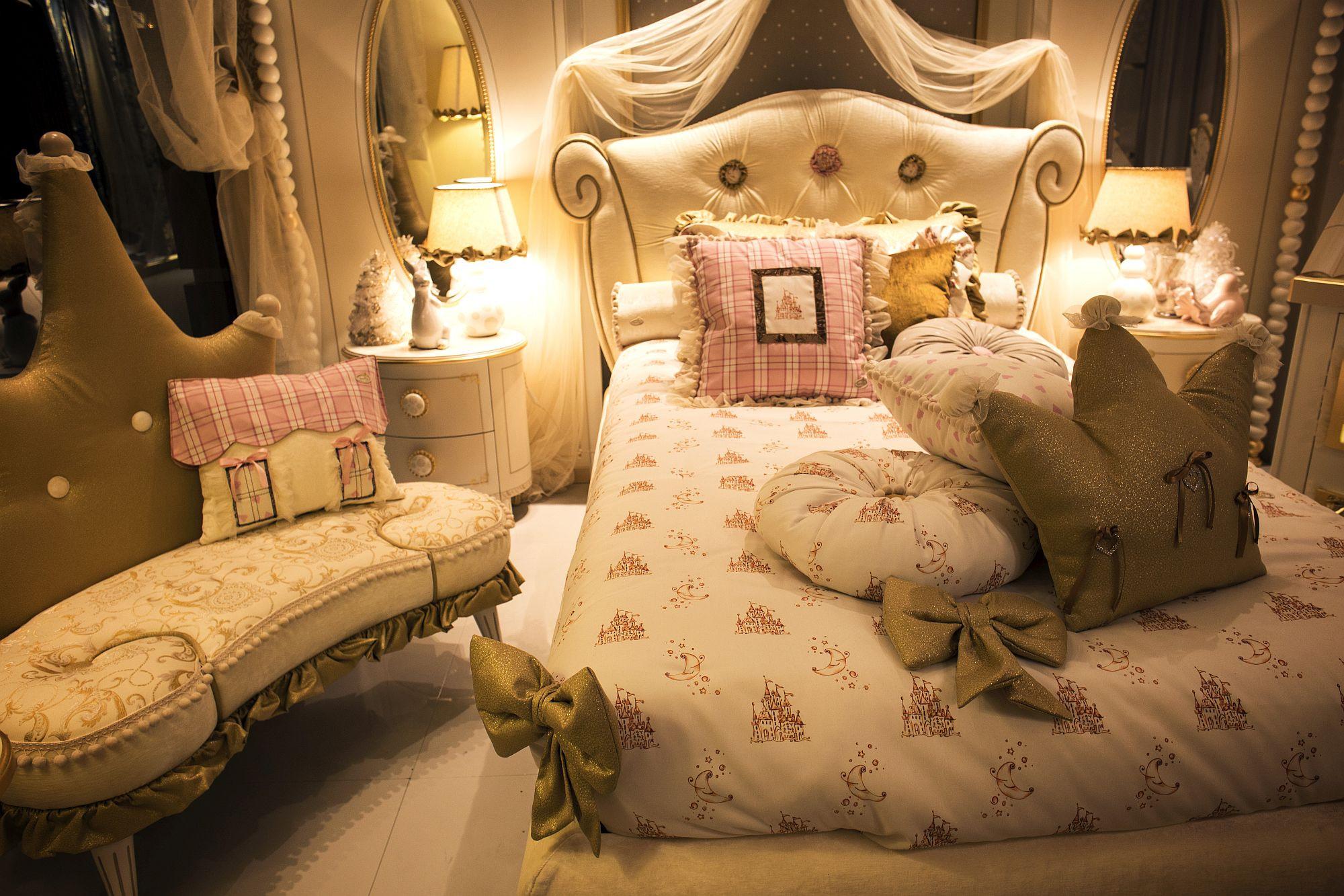 Kids Princess Room  50 Latest Kids' Bedroom Decorating and Furniture Ideas