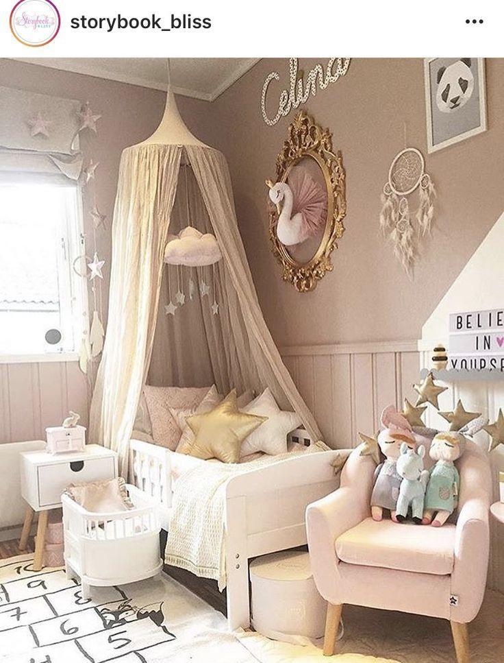 Kids Princess Room  swan girl