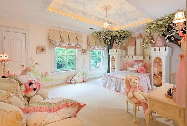 Kids Princess Room  20 Princess Themed Bedrooms Every Girl Dreams