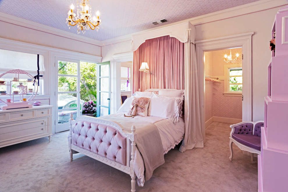 Kids Princess Room  Fit for a Princess Decorating a Girly Princess Bedroom