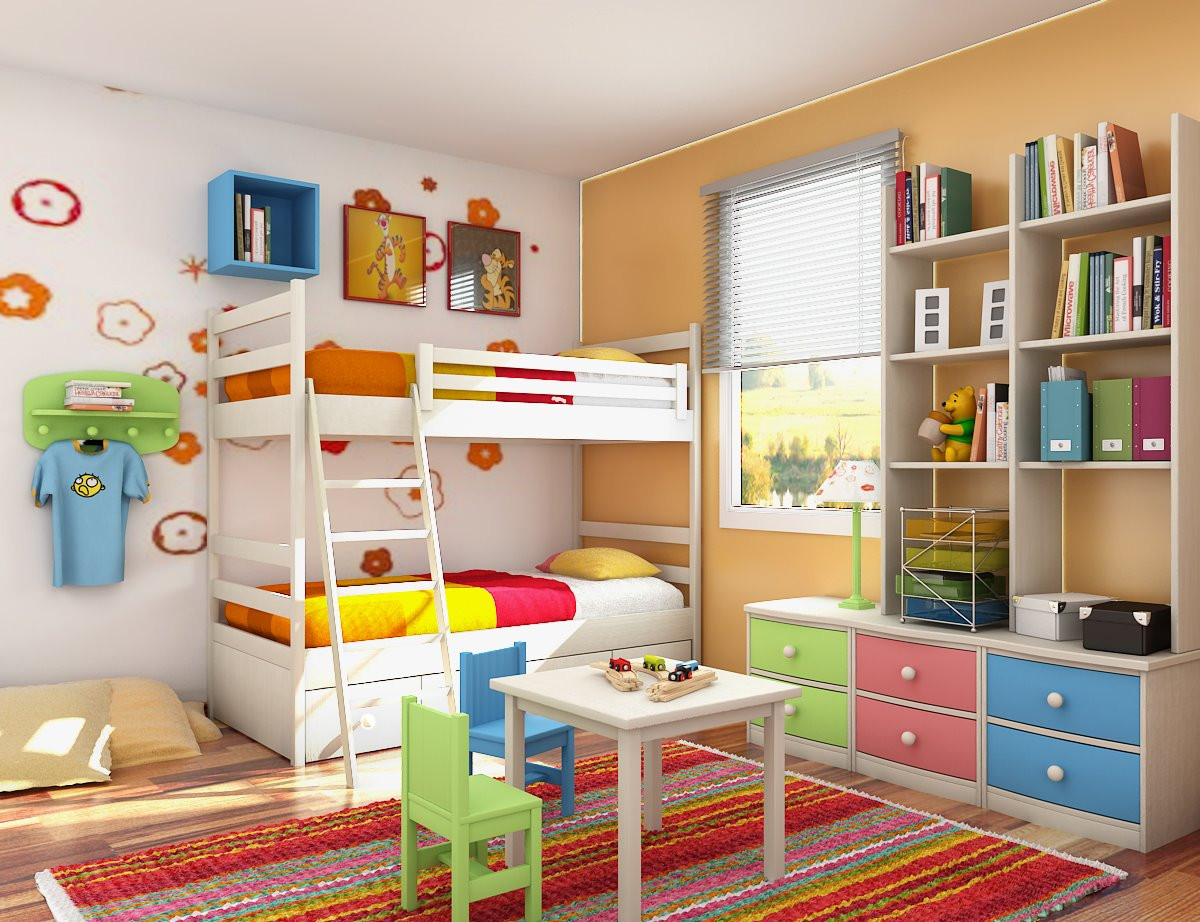 Kids Room Stuff  5 Ways to Spruce Up Your Kids Bedroom