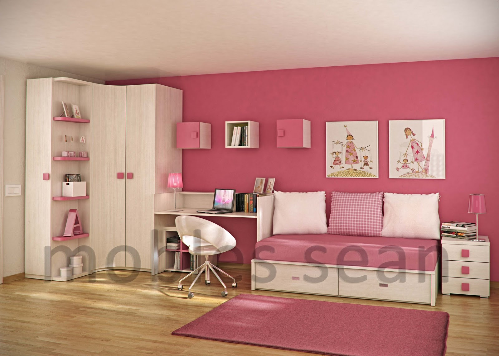 Kids Room Stuff  Space Saving Designs for Small Kids Rooms