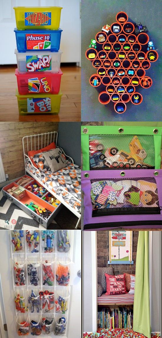 Kids Toy Organizing Ideas  20 DIY Toy Organization Ideas
