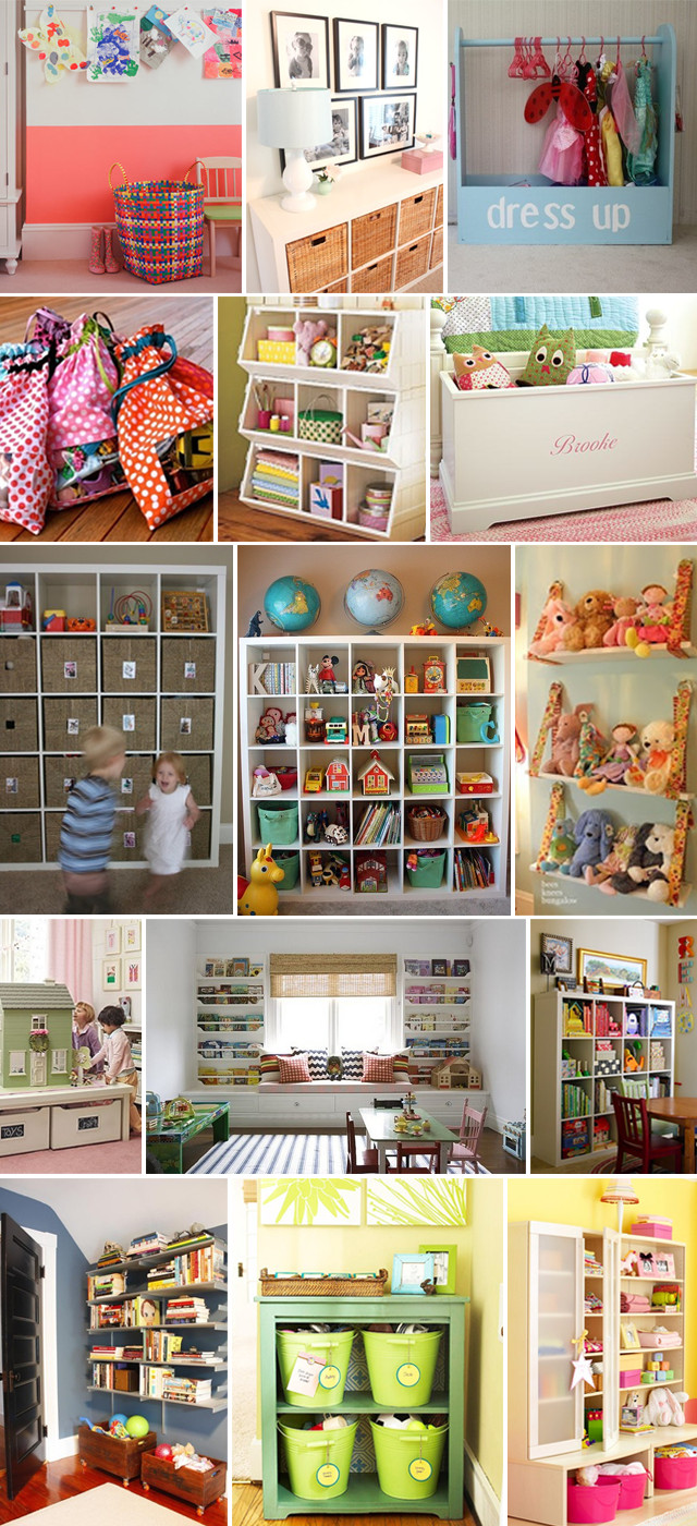 Kids Toy Organizing Ideas  Kid's Decor