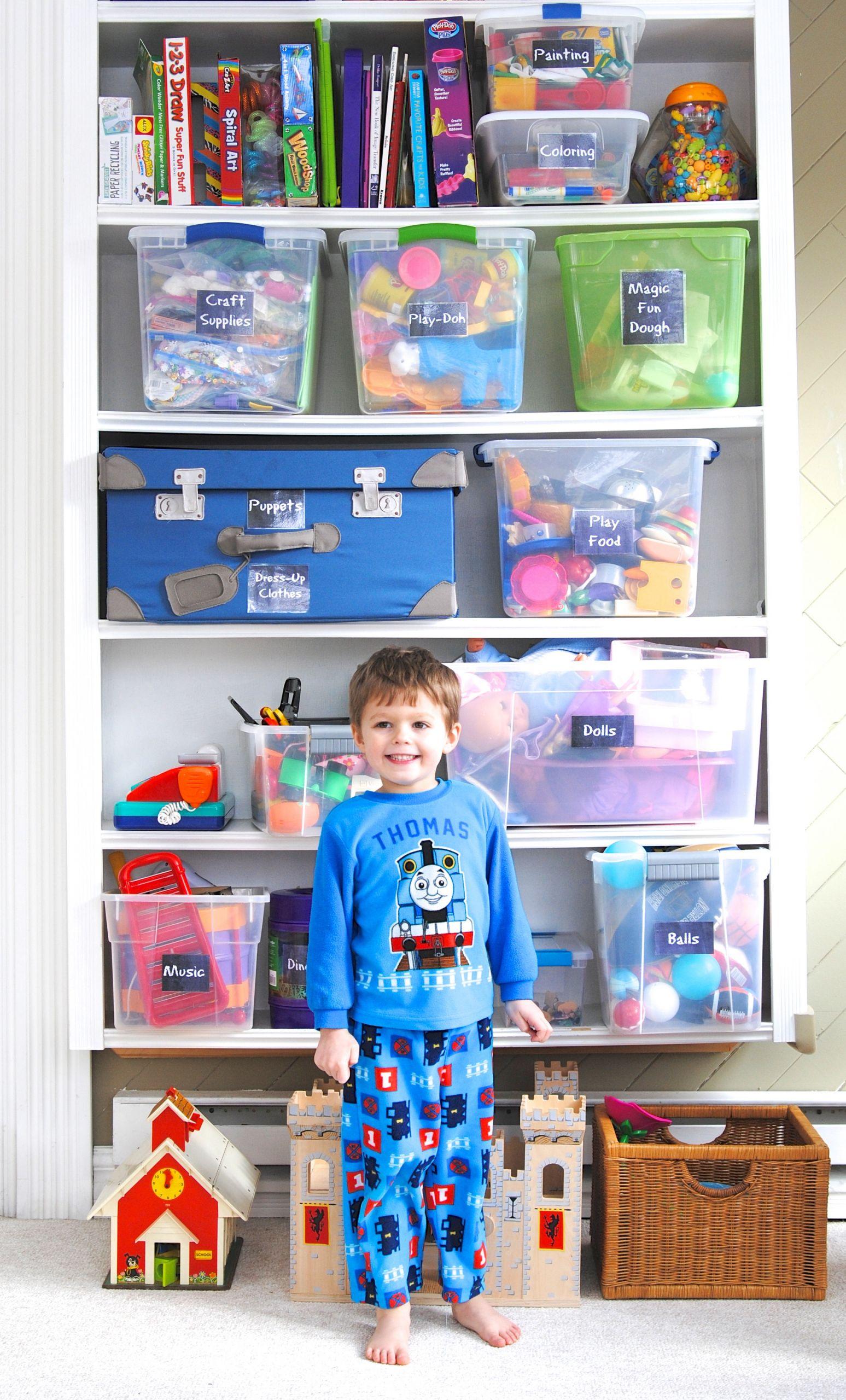 Kids Toy Organizing Ideas  Toy Organization 101 Taming the Toys