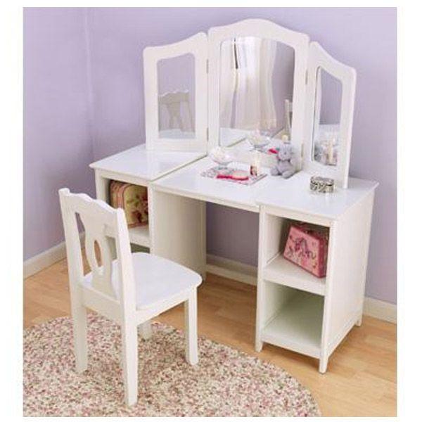 Kids Vanity Table  22 best DIY kid table & chairs images on Pinterest