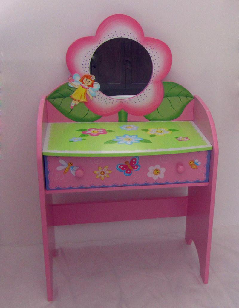 Kids Vanity Table  Modern Wooden Kids Vanity Table SFW0621 s &