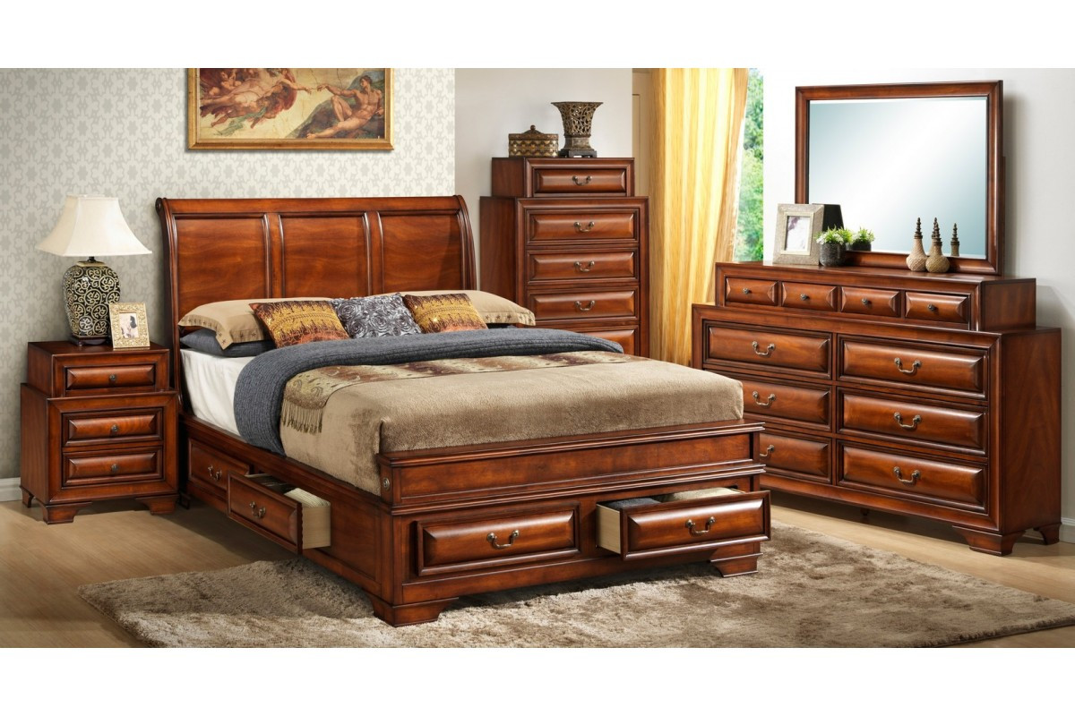 King Size Storage Bedroom Set Elegant Bedroom Sets south Coast Cherry King Size Storage