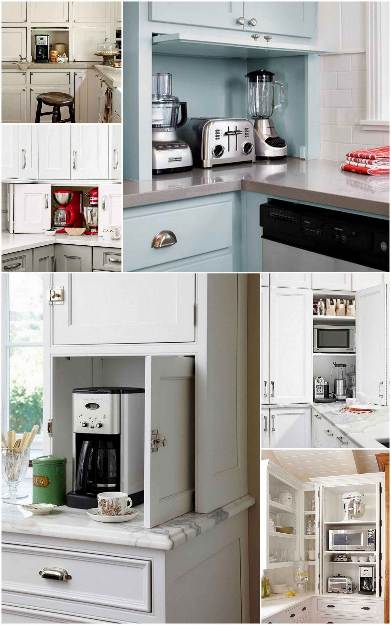 Kitchen Appliance Storage Unique the Ideal Kitchen Appliance Storage