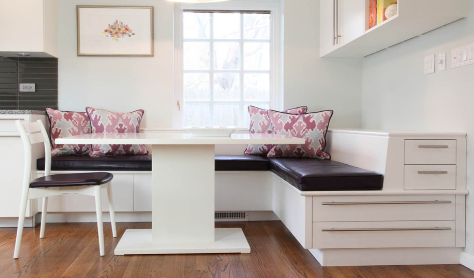 Kitchen Banquette with Storage Beautiful Kitchens and Baths