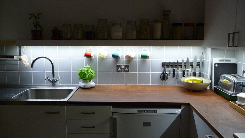 Kitchen Led Lights Under Cabinet  Kitchen LED lights Install ideas for your Kitchen