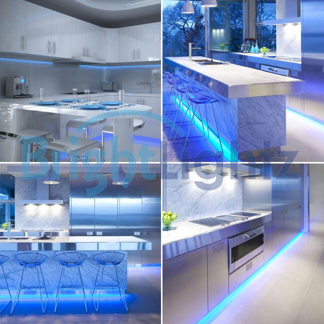 Kitchen Led Lights Under Cabinet  UNDER CABINET COUNTER KITCHEN LIGHTS TV PLASMA LED STRIP