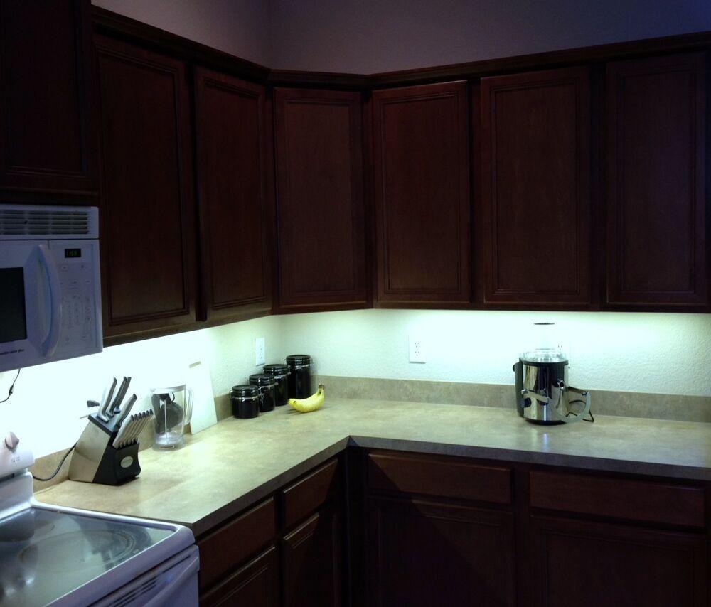 Kitchen Led Lights Under Cabinet  Kitchen Under Cabinet Professional Lighting Kit COOL WHITE
