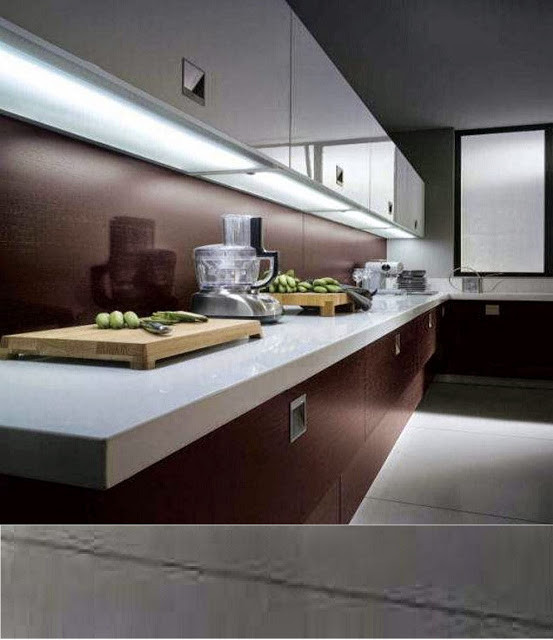 Kitchen Led Lights Under Cabinet  Where and how to install LED light strips under cabinet