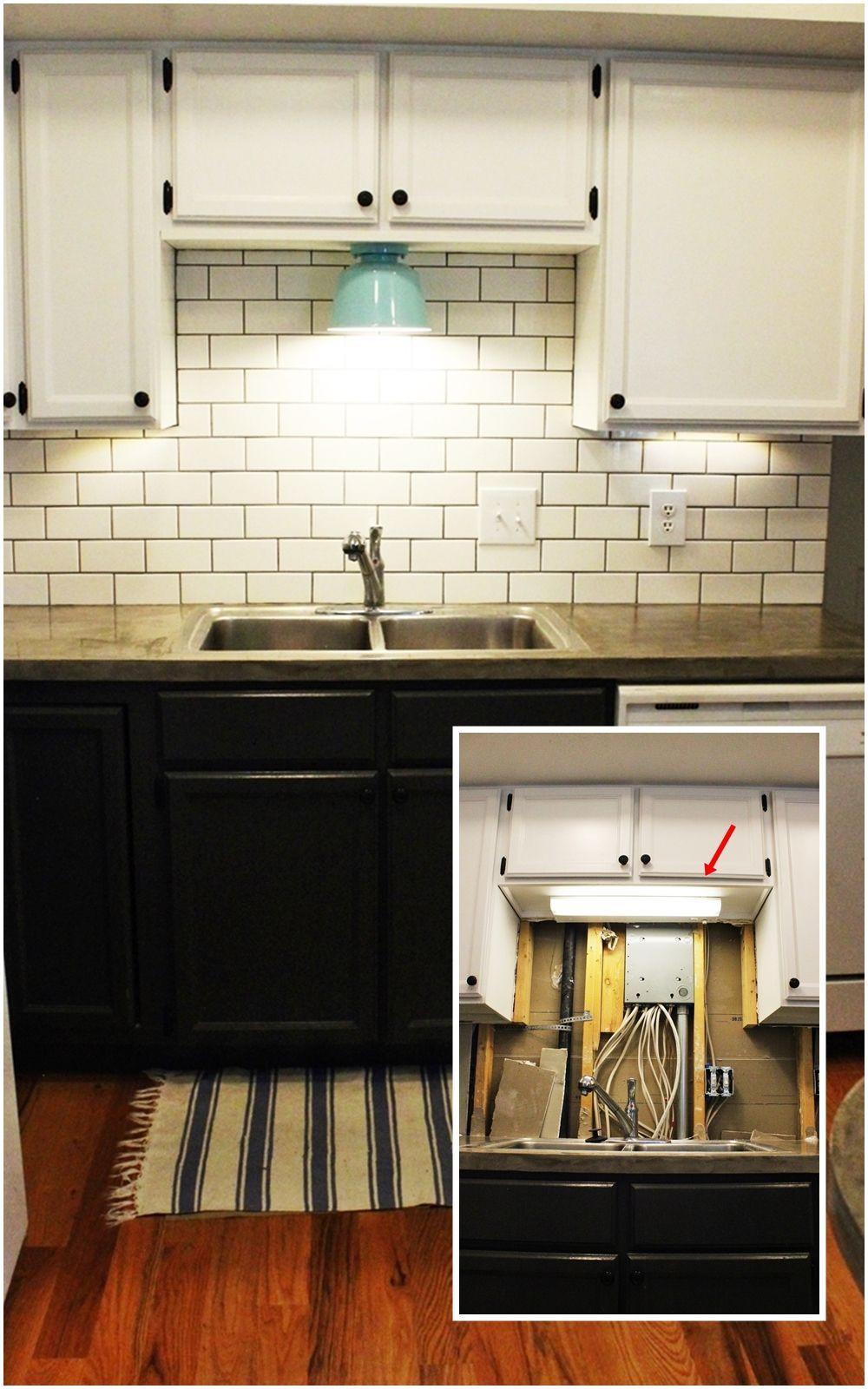 Kitchen Led Lights Under Cabinet  DIY Kitchen Lighting Upgrade LED Under Cabinet Lights