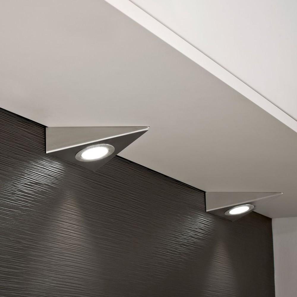 Kitchen Led Lights Under Cabinet  kitchen under cabinet triangle led light in cool white 6000k