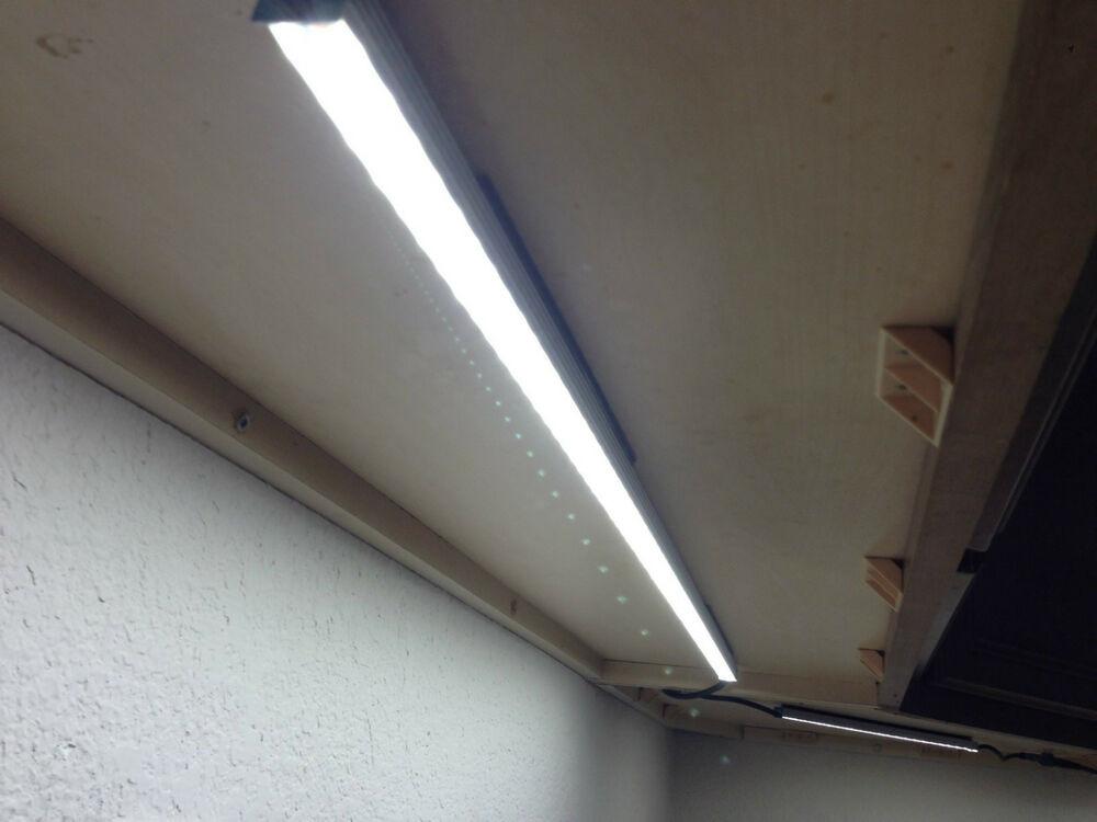 Kitchen Led Lights Under Cabinet  Kitchen Under Cabinet Lighting Kit LED Bar Fixture COOL
