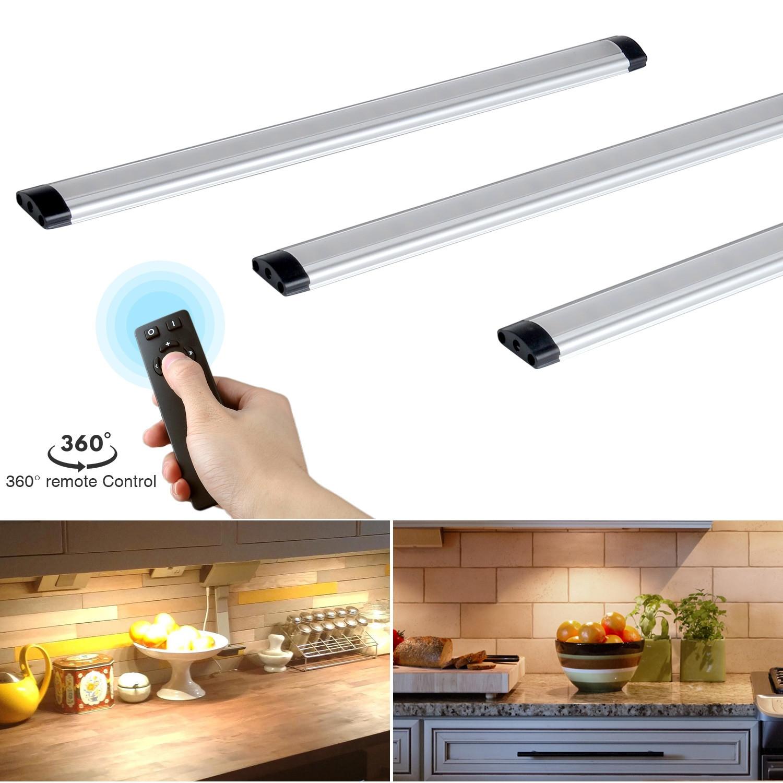 Kitchen Led Lights Under Cabinet  Remote control LED Kitchen Under Cabinet Rigid Strip Light