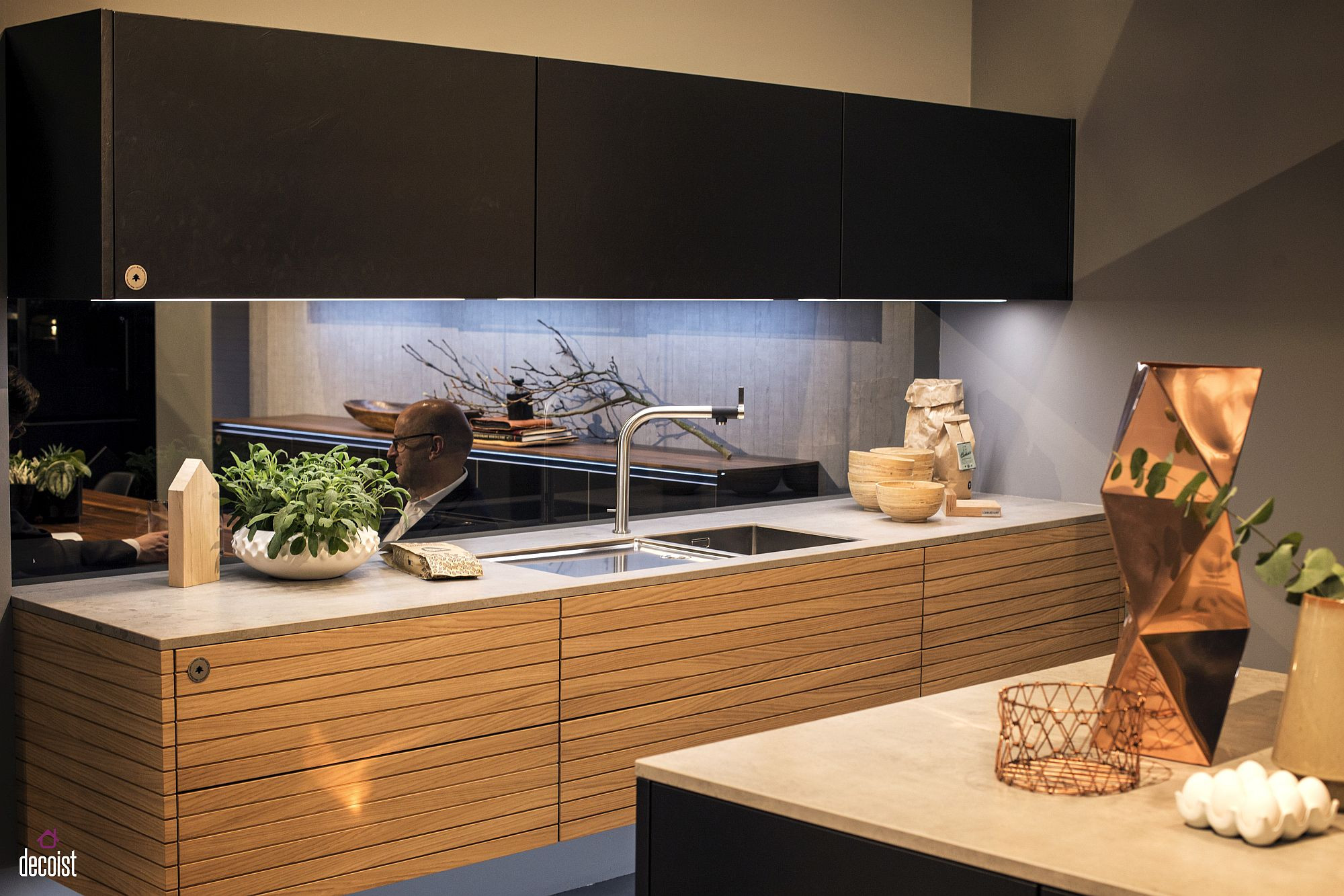 Kitchen Led Lights Under Cabinet  Decorating with LED Strip Lights Kitchens with Energy