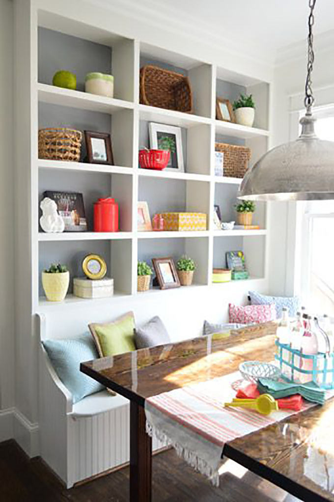Kitchen Nooks With Storage  Beautiful Breakfast Nooks That Will Convince You to Get e