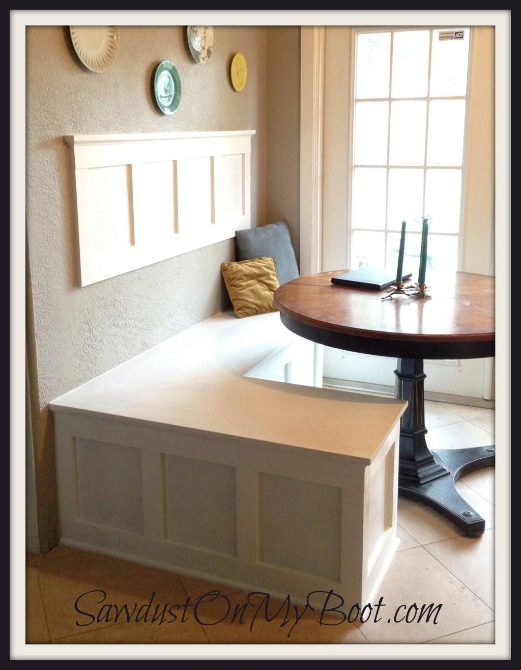 Kitchen Nooks With Storage  Breakfast Nook Bench With Storage – Loccie Better Homes
