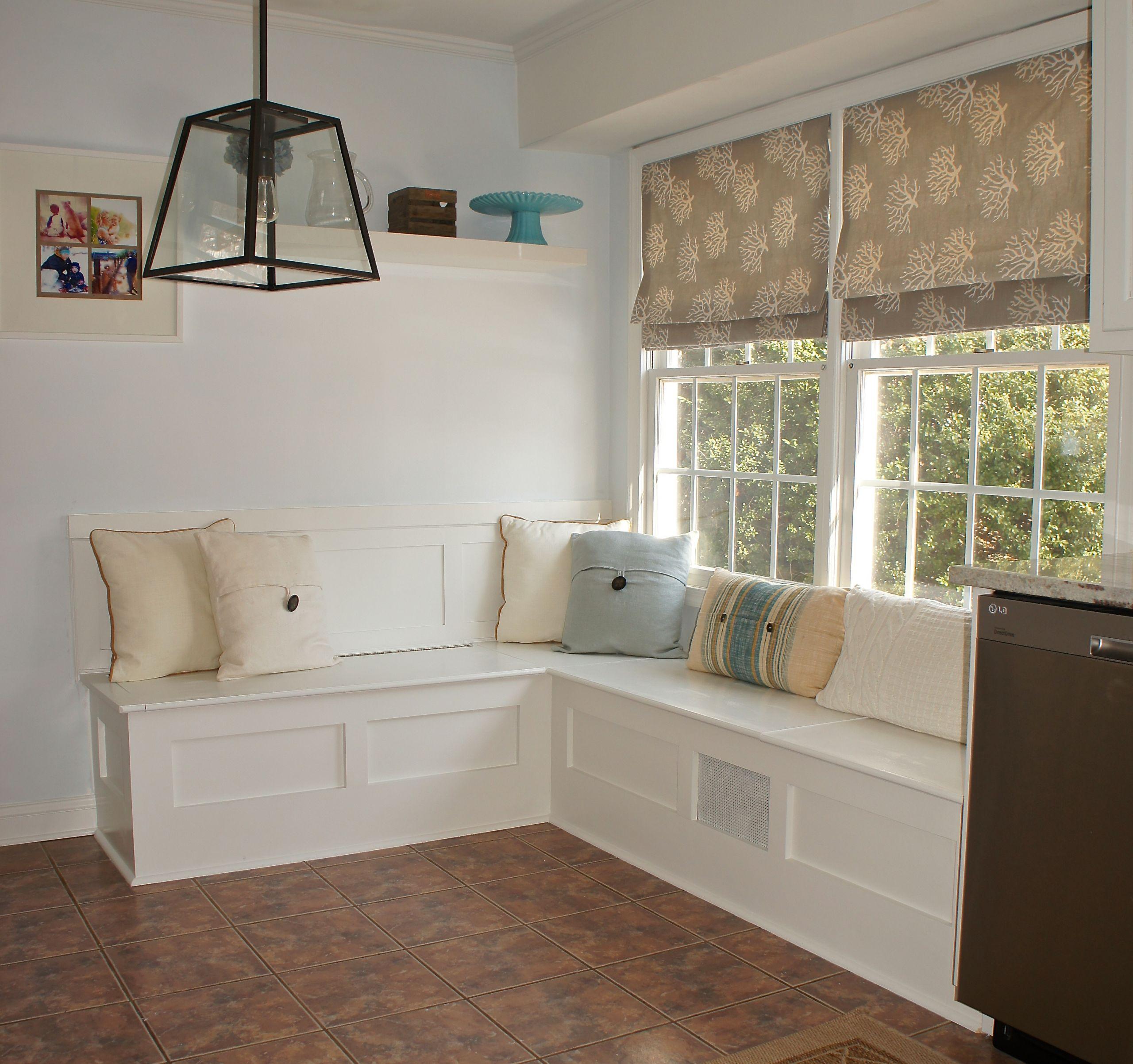 Kitchen Nooks With Storage  Breakfast Nook Bench