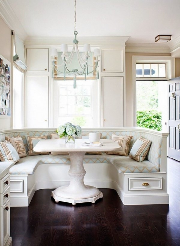 Kitchen Nooks With Storage  How to arrange an adorable breakfast nook in the kitchen
