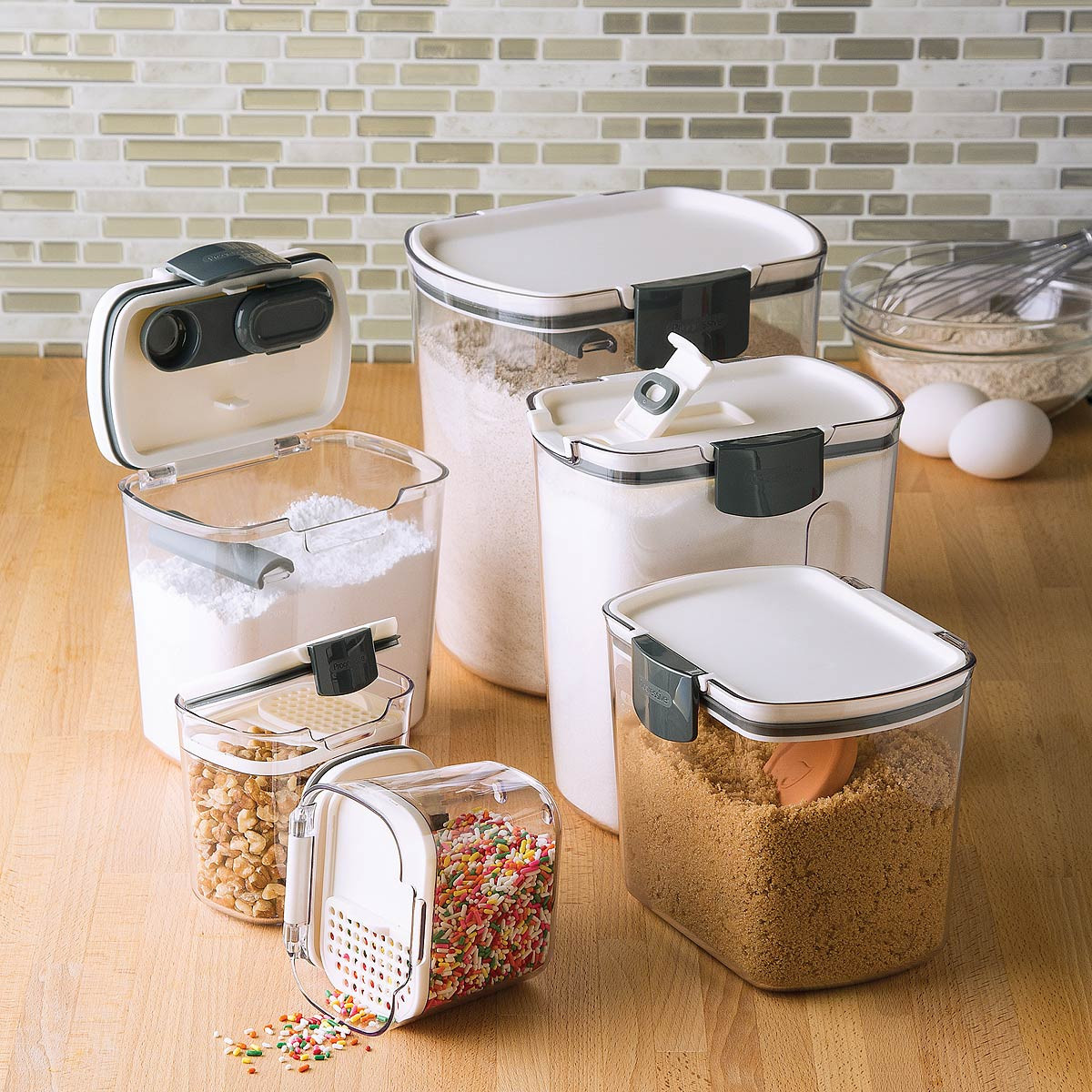 Kitchen Storage Container Sets Inspirational Airtight Food Storage Containers Set Of 6