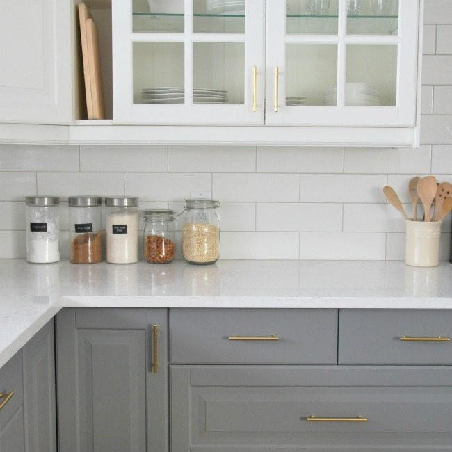 Kitchen Subway Tile Backsplash Designs  Installing A Subway Tile Backsplash in Our Kitchen the