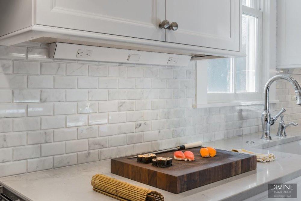 Kitchen Subway Tile Backsplash Designs  Transitional Kitchen Backsplash Ideas — Divine Design Build