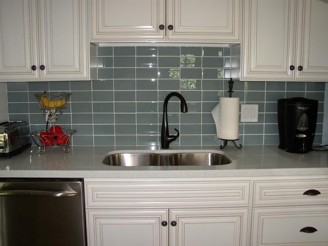 Kitchen Subway Tile Backsplash Designs  Glass Tile Backsplashes by SubwayTileOutlet Modern