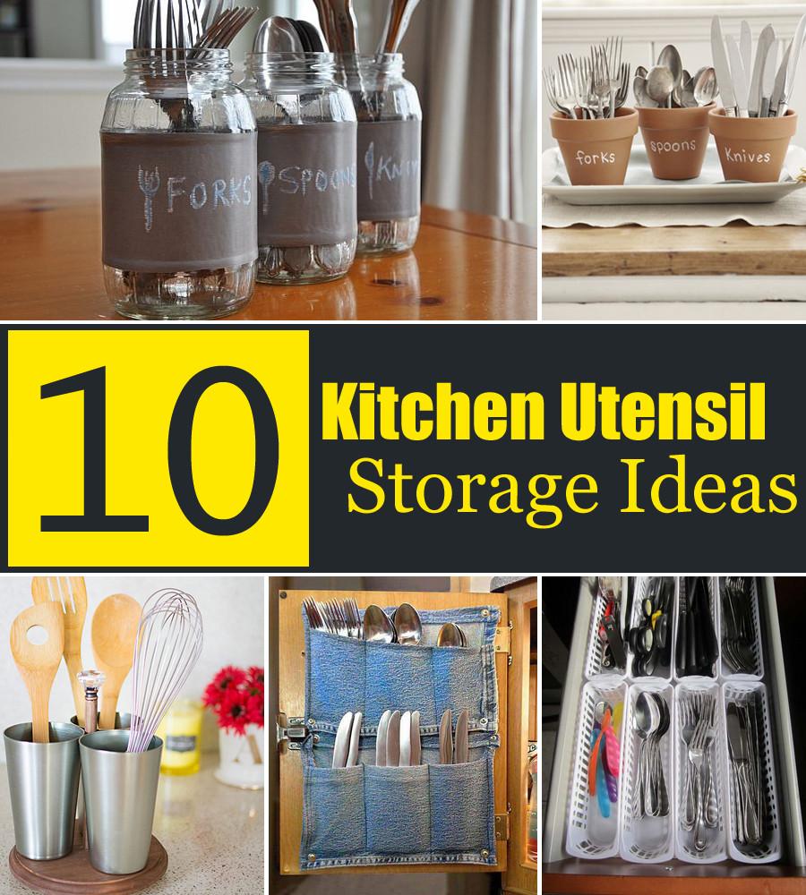 Kitchen Utensil Storage Ideas Luxury 10 Creative Kitchen Utensil Storage Ideas
