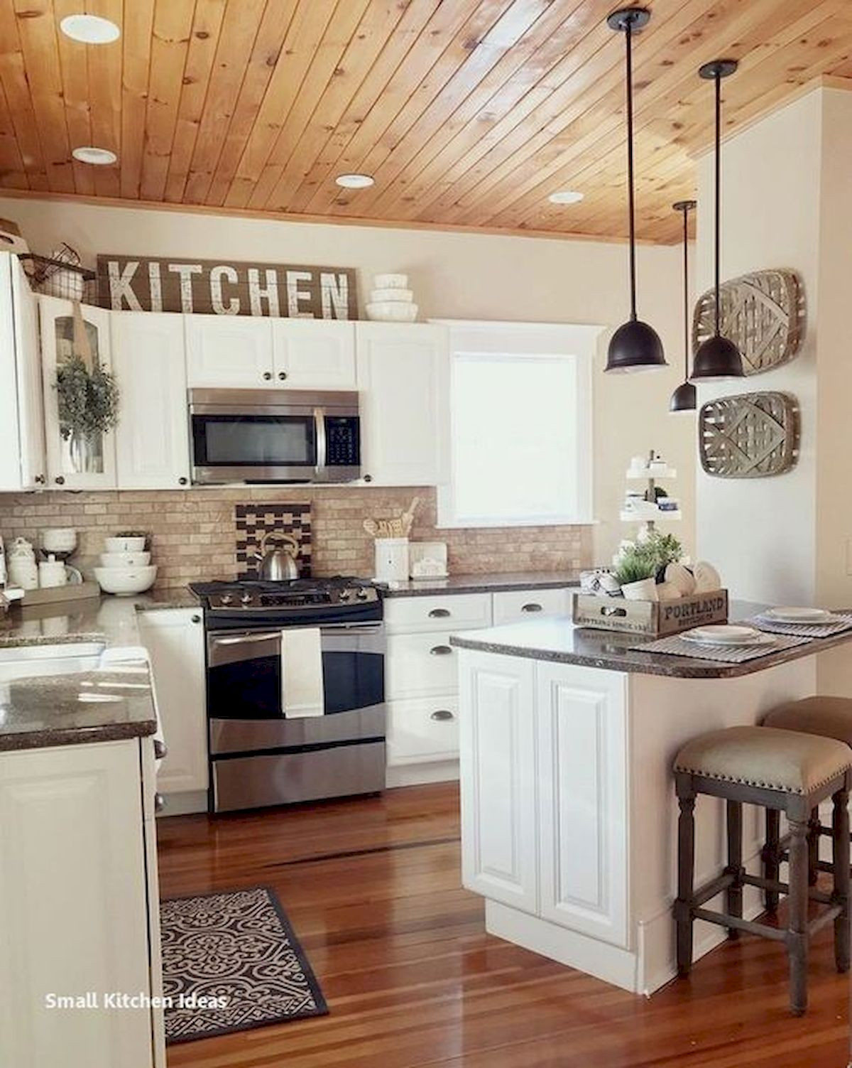 Kitchen Wall Signs  37 Best Farmhouse Wall Decor Ideas for Kitchen Ideaboz