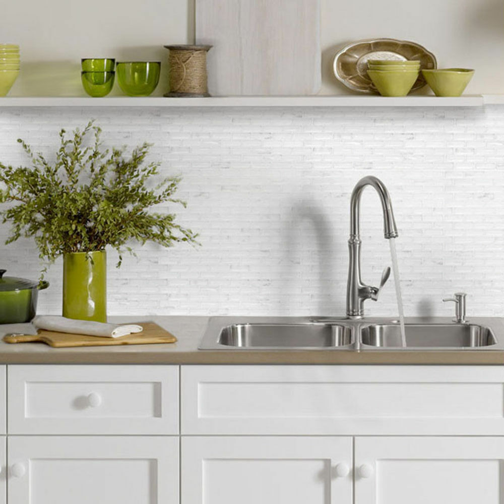 Kitchen Wall Signs  Home Bathroom Kitchen 3D Brick Wall Decor Stickers
