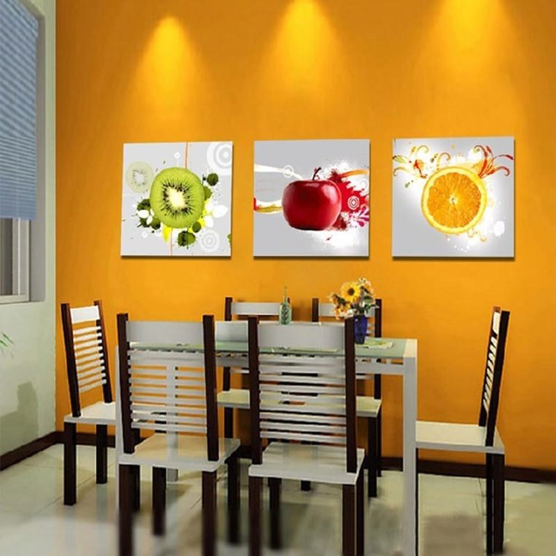 Kitchen Wall Signs  Aliexpress Buy Canvas Art Kitchen Wall Art Fruit